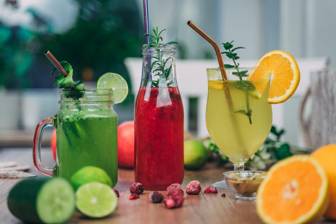 3 gesunde Limonaden